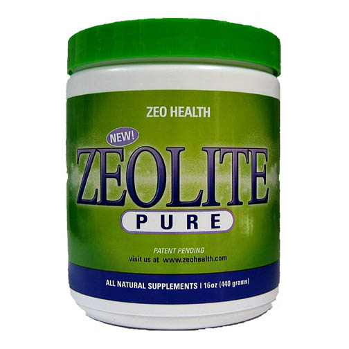 powdered zeolite